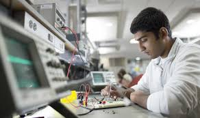students studying engineering in india