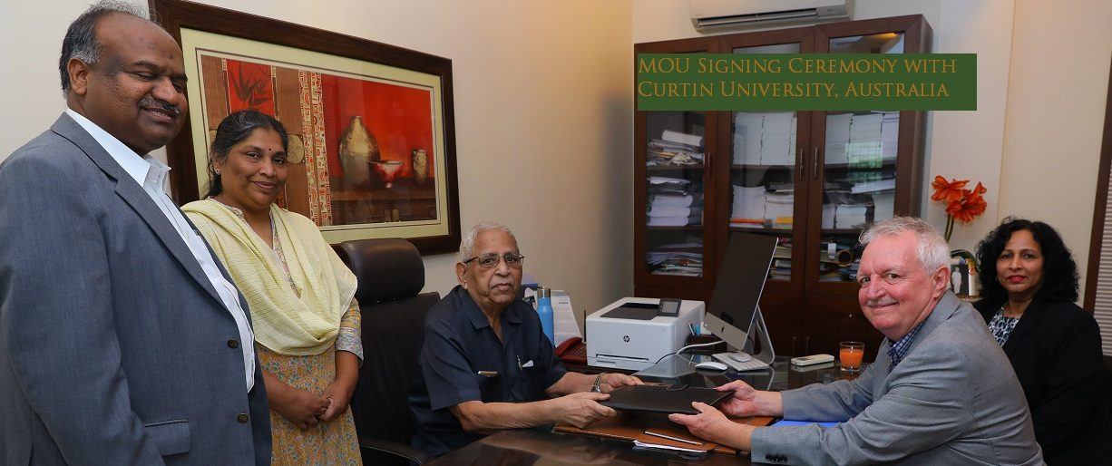 cbit and curtin university MOU